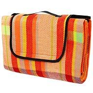 Calter Party Picknick, mit farbigen Streifen - Decke