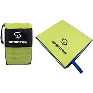 Sprinter - ručník z mikrovlákna 100 × 160 cm - zelený - Handtuch