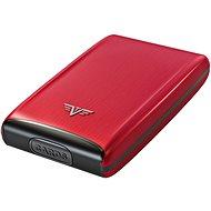 Tru Virtu Credit Card Case Razor - Red Pepper - Brieftasche