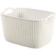 Curver Knit Korb 19L cremig - Aufbewahrungsbox