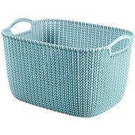 Curver Knit Korb 19L blau - Aufbewahrungsbox