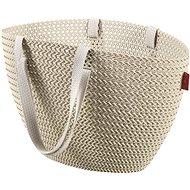 Einkaufstasche Currier Knit Emily Creme - Einkaufstasche