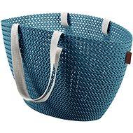 Einkaufstasche Currier Knit Emily blau - Einkaufstasche