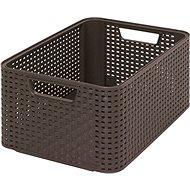Curver Style Box M dunkelbraun - Aufbewahrungsbox