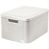 Curver Style Aufbewahrungsbox mit Deckel L Creme 03619-885 - Bank