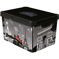 Aufbewahrungsbox Curver Decobox - L - Paris - Bank