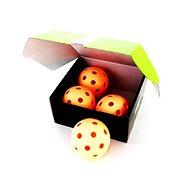 Unihoc míček Crater WFC orange 4-pack - Unihockeyball