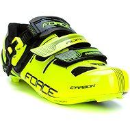Force tretry Road Carbon, fluo-černé 45 - Spikes