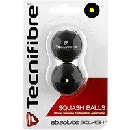 Tecnifibre jednotečkové žluté - Squash-Ball