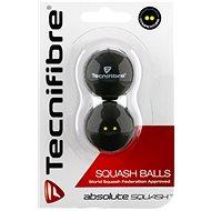 Tecnifibre dvoutečkové žluté - Squash-Ball