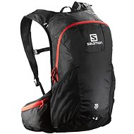 Salomon Trail 20 Black/Bright Red - Rucksack