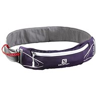 Salomon Agile 250 Belt Set Purple Velvet/White - Bauchtasche