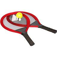 Sada raket tenis & badminton, červená - Spielset