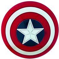 Zubehör für Avengers Kostüm - Captain America Schild 35cm - Kostüm-Accessoires