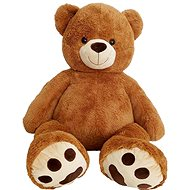 Teddybär Höhe 135 cm - Schokoladenbraun - Stoffspielzeug