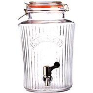 Glasfass Kilner mit Wasserhahn 5 l - Getränkeautomat