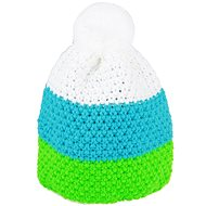SHERPA GEMMA Weiß / Blau / Grün - Mütze