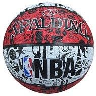 NBA Graffiti outdoor sz.7 red - Basketball-Ball