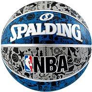 NBA Graffiti Outdoor sz.7 blue - Basketball-Ball