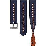 Suunto 22mm Urban 4 Silicone Strap Blue/Orange S/M - Armband