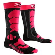 X-SOCKS - SKI CONTROL 2.0 LADY Light Grey Melange Violet - Damen Skisocken