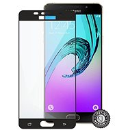 ScreenShield SAMSUNG A510 Galaxy A5 (2016) Tempered Glass protection (full COVER BLACK metalic frame)