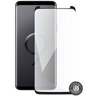 Screenshield SAMSUNG G965 Galaxy S9+ Tempered Glass Protection (black - CASE FRIENDLY) fürs Display