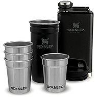STANLEY ADVENTURE SERIES Geschenkset Flachmann und 4 Pintchen mattschwarz - Thermosflasche