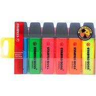 STABILO Boss 2-5mm Set mit 6 Farben - Textmarker