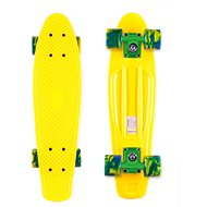 Street Surfing Beach Board Summer Sun, žlutý - Kunststoff-Skateboard
