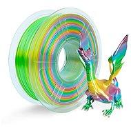 Sunlu 1,75 mm Silk PLA 1 kg Regenbogen/Rainbow - 3D Drucker Filament
