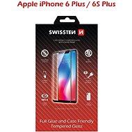 Swissten Case Friendly Schutzglas für iPhone 6 Plus / 6S Plus schwarz
