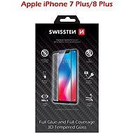 Swissten 3D Full Glue Schutzglas für iPhone 7 Plus / 8 Plus weiss - Schutzglas