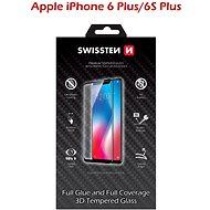 Swissten 3D Full Glue Schutzglas für iPhone 6 Plus/ 6S Plus weiss