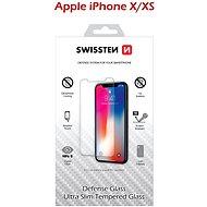 Swissten Schutzglas für iPhone X / XS - Schutzglas