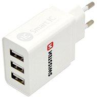 Netzladegerät Swissten Netzwerkadapter SMART IC 3 x USB 3.1A