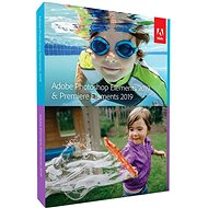 Adobe Photoshop Elements + Premiere Elements 2019 MP ENG Schüler- und Lehrerbox - Software