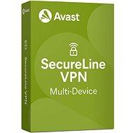 Avast SecureLine VPN Multi-Device für 5 Geräte für 12 Monate (elektronische Lizenz) - Antivirus-Software