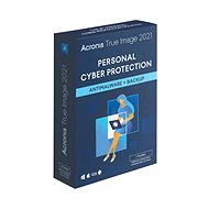 Backup-Software Acronis True Image 2021 Premium-Schutz für 1 PC für 1 Jahr + 1 TB Acronis Cloud-Speicher (Elektronis