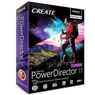 CyberLink PowerDirector 17 Ultimative  (elektronische Lizenz) - Officesoftware