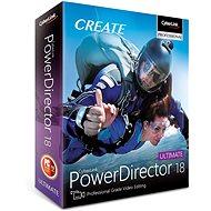 CyberLink PowerDirector 18 Ultimate  (elektronische Lizenz) - Video software