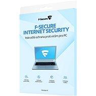 F-Secure INTERNET SECURITY für 3 Geräte pro Jahr (elektronische Lizenz) - Elektronische Lizenz