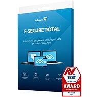 F-Secure TOTAL für 3 Geräte, 1 Jahr (Digitale Lizenz) - Internet Security