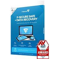 F-Secure SAFE für 3 Geräte, 1 Jahr + DATA RECOVERY für 1 Gerät, 1 Jahr (Elektr. Lizenz) - Antivirus