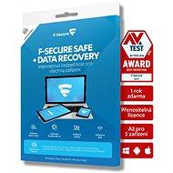 F-Secure SAFE für 5 Geräte, 2 Jahre + DATA RECOVERY für 1 Gerät, 2 Jahre (Elektr. Lizenz) - Antivirus