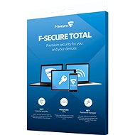 F-Secure TOTAL FAMILY DR für 5 Geräte pro Jahr + Datenwiederherstellung für 1 Gerät pro Jahr (elektr - Antivirus