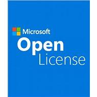 1 klient pro Microsoft SQL Server 2017 Standard Edition OLP USER CAL (elektronická licence) - Klientské licence pro server