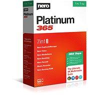 Nero Platinum 365 DE BOX - Software