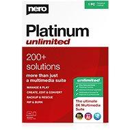 Nero Platinum Unlimited 7in1 CZ (Elektronische Lizenz) - Elektronische Lizenz