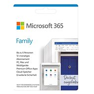 Officesoftware Microsoft 365 Family (BOX)